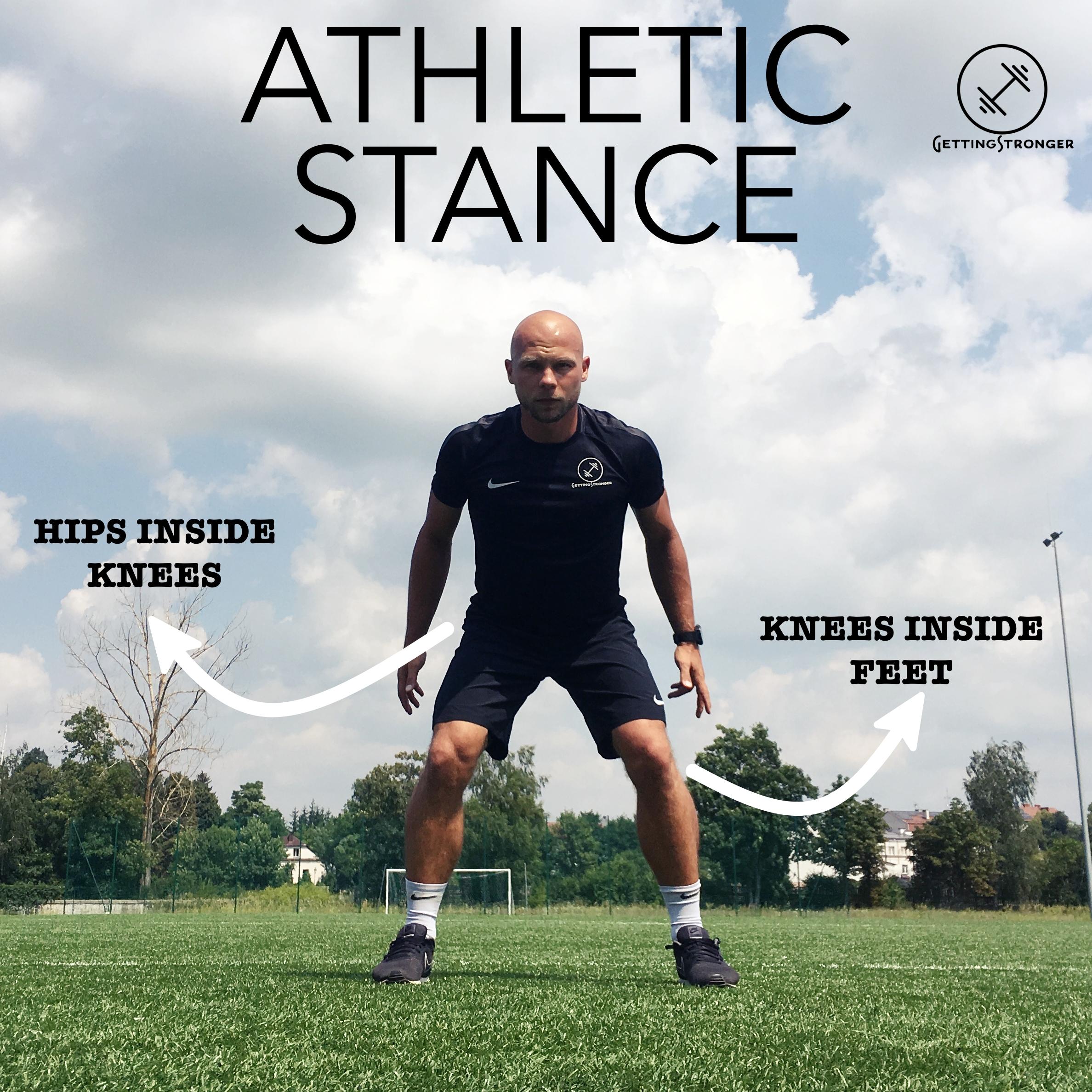 Pozycja bazowa / postawa atletyczna