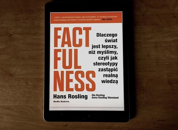 """Książka """"Factfulness"""""""