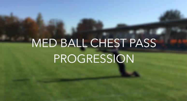 Chest pass – progresja