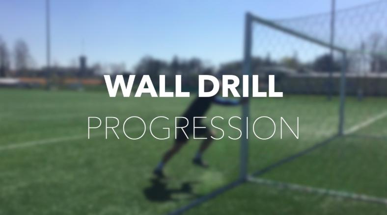 Wall drills – progresja